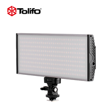 Tolifo ultra thin aluminum led video camera light for photo and portrait