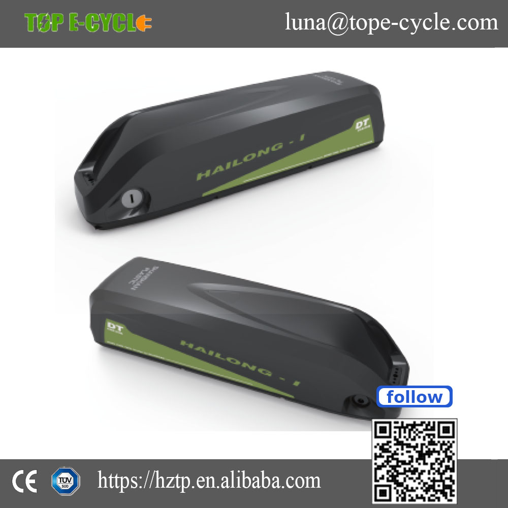 Good quality seat tube 48v lithium ion ebike battery with USB
