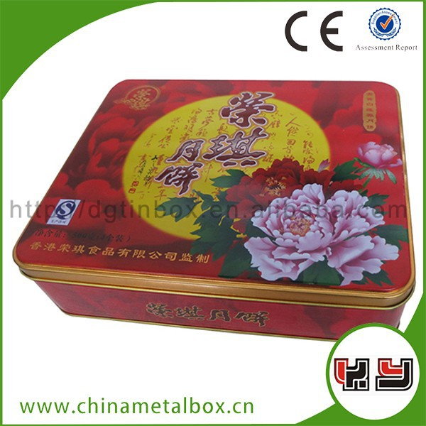 Various Types Chocolate Package Moon Cake Package Box