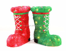 Popular unique colorful shoes christmas stocking