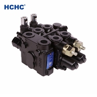 HCHC sectional type hydraulic flow control valve DL145 for hydraulic systems