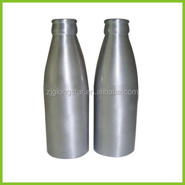Top grade new arrival colored aluminum beer bottle
