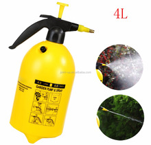 4L High Pressure Water Mister Spray Bottle with Adjustable Pure Brass Nozzle for Garden Flower Irrigation and Car Cleaning