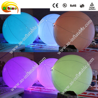 advertising inflatable light led balloon