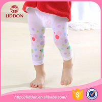 Opaque floral baby girls colorful leggings wholesale,OEM baby leggings/tights/pantyhose