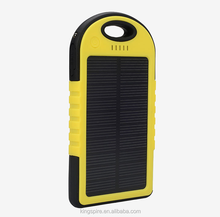 5000mah Solar Charging External Battery Most Powerful Power Bank