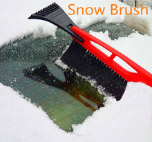 car cleaning snow brush ice scraper with brush