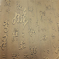 Special texture pvc book cover material