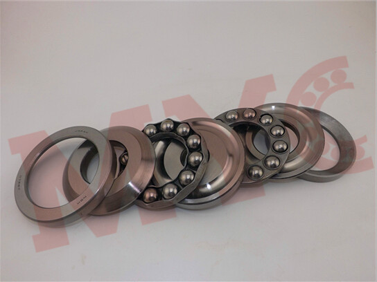51120 Bearing Steel Single Row Axial Thrust Ball Bearing
