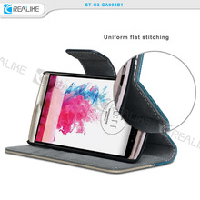 Flip Quick Circle Smart Leather Case for LG G3 mini