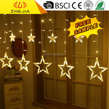 Wholesale funny designer window twinkle fairy icicle lights, led outdoor wall curtain light