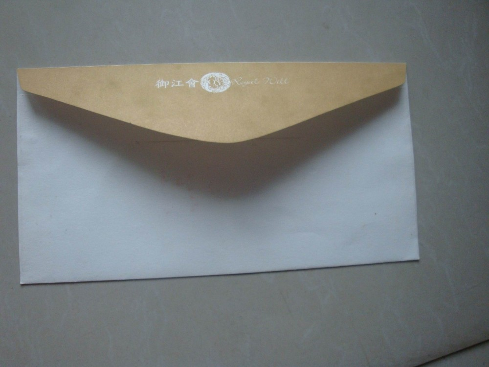 Customized size design professional paper business card envelope