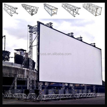 LED lights stage truss system