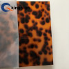 Laser cutting Leopard Print Tortoise shell cast acrylic sheet for wall