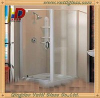 unbreakable soundproof glass bathroom entry doors