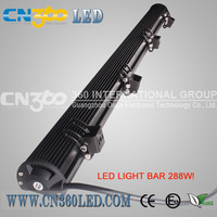 "2013 original factory!!! IP67 43.5"" 288W LED off road lights,high power LED offroad light bar for forest truck and vehicle atv"
