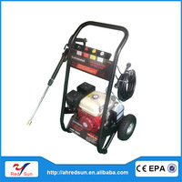 gasoline drain high pressure cleaning machine with 5.5HP engine