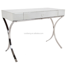 High quality modern malaysia mirrored stainless steel dressing table