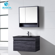 Pvc Bathroom Vanity Water-Resistant Waterproof Shower Cabinets Units Washing Machine Vanities Bathroom Vanity Cabinet