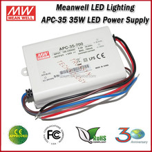 Meanwell LED Driver APC-25-350 Single Output 25W 350mA Meanwell Power Supply