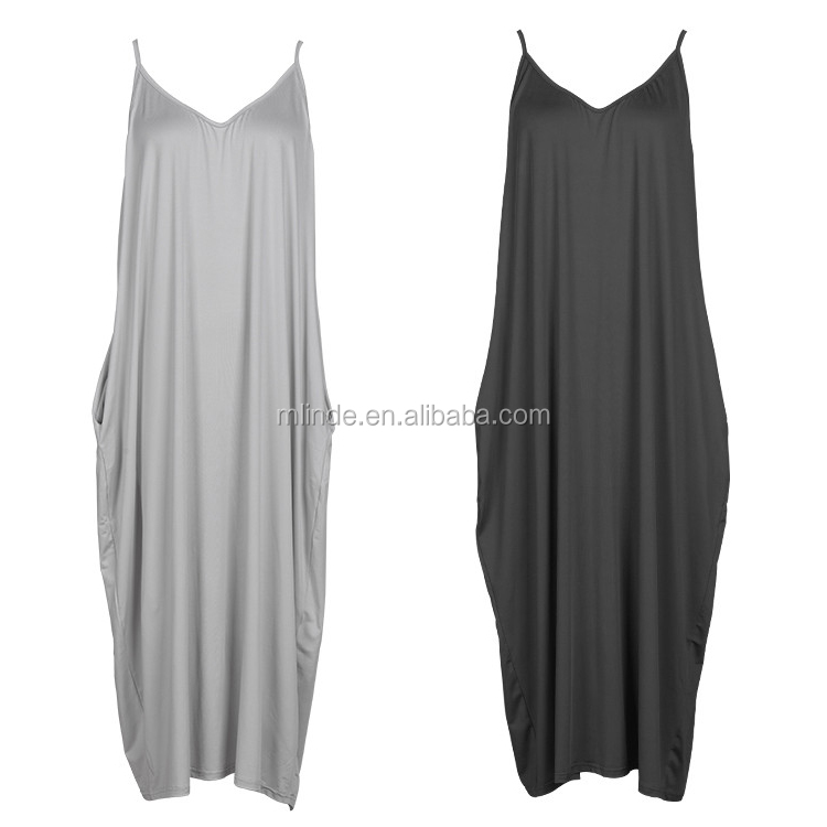 XXL Size Women Casual Slip Dress for Plus Size Dress Wholesale CUSTOM Clothing Manufacturer