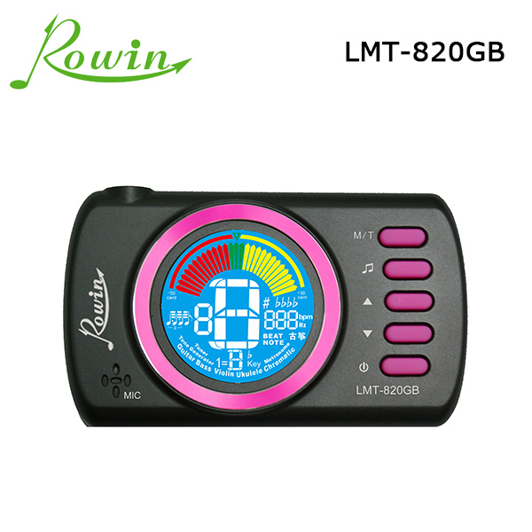 Guitar Pedal 2015 Limited Guitar New Lcd LMT-820 Mini Clip On Digital Chromatic Bass Violin Ukulele Tuner