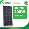 Bluesun monocrystalline flexible solar panel 200w 190w 195w 210w 215w 220w
