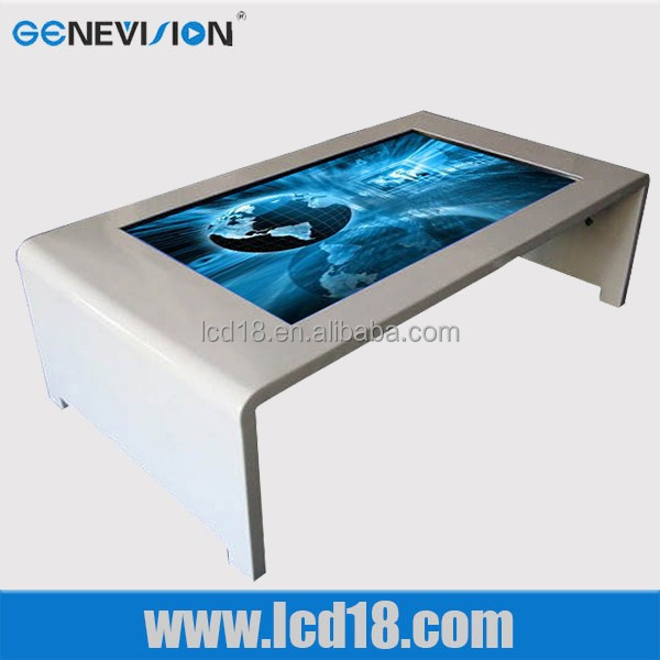 Innovative LCD Player digital touch screen restaurant menu