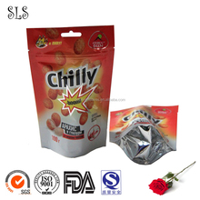 Food grade ziplock plastic bags for snack and dry fruit packaging