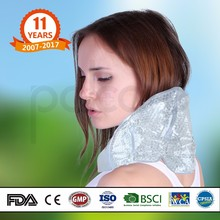 Microwavable adjustable bio gel water beads hot cold neck pack for pain relief belt wrap