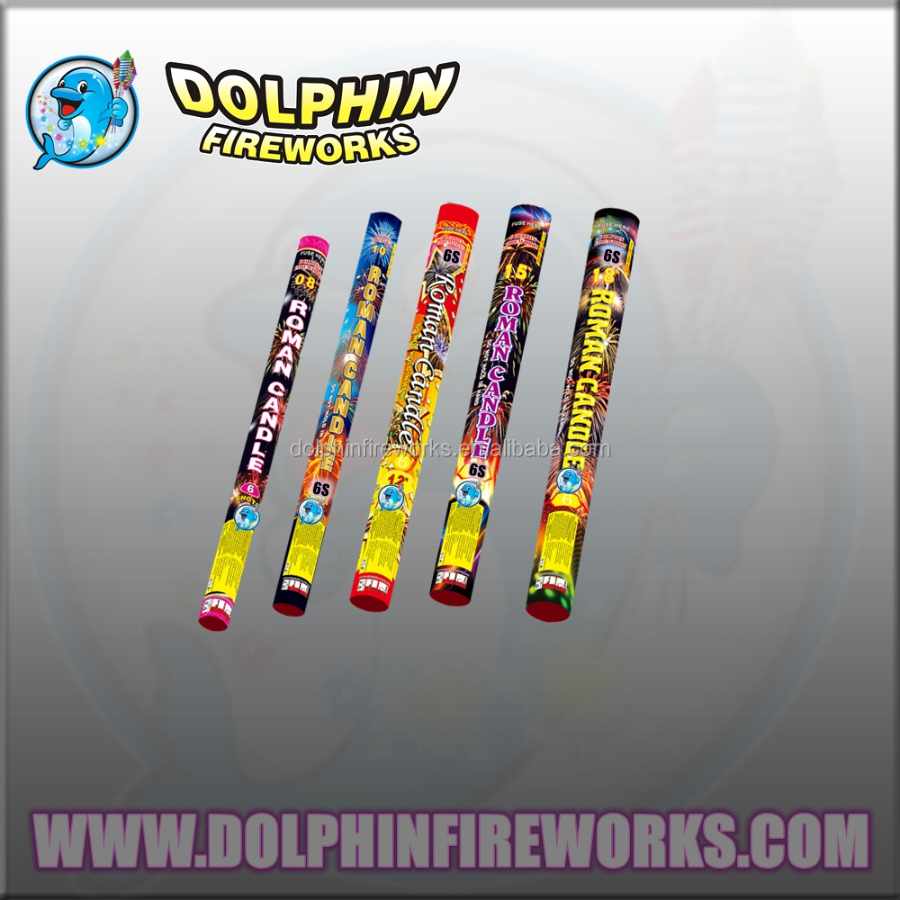 "1.2"" 8shots Roman candle fireworks"