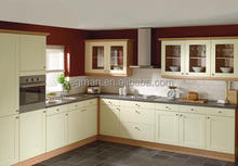 New product 2013 kitchen white shaker style laminate cupboard
