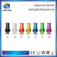Sailing sell well plastic 510 flat drip tip cheap wholesale