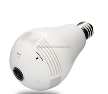 360-Degree Panoramic Wireless ceiling wifi hidden camera light bulb invisible