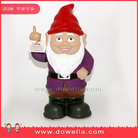 Motion Activated talking Gnome , Speaking toy ,3D figurine with voice