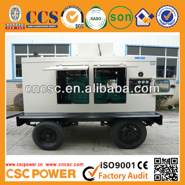 2014 Trailer Genset powered by with cummins engine diesel engines