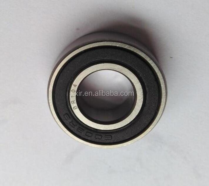 Deep groove ball bearing 6002-2RS chrome steel bearing ABEC-1