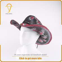 wholesale hat suppliers cheap boys straw cowboys hats for men and women