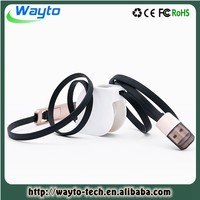 Private Mould double micro usb data cable for nokia ca-50fast charging usb data