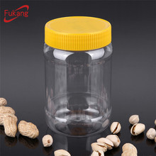 450ml Clear Plastic Container Jar with Screw Lid for Viggin Coconut Oil