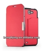 2012 New Stand flip Leather Case for Samsung Galaxy Note 2 II N7100,PU Leather flip case,with credit card holders