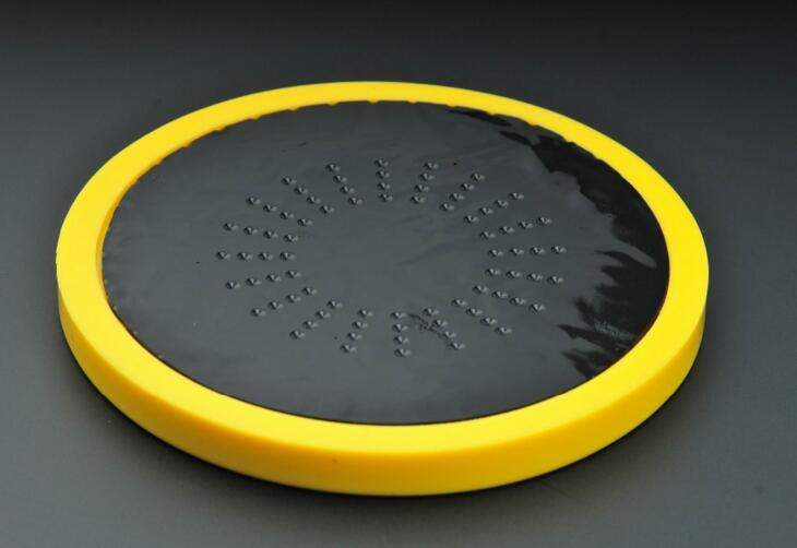 with patent easy sticky silicone drum practice pad 6 inch