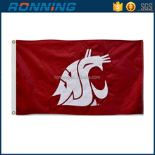 Free shipping 3x5ft WSU Cougars Flag