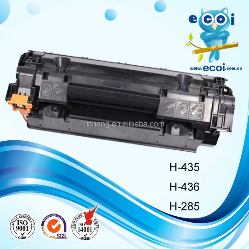 China factory supply high quality compatible H-435/436/285A toner cartridge