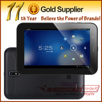 "7"" Built-in GPS 3G tablet pc Dual Sim MTK8377 A9 1.2GHz Dual core Android 4.1 1GB 8GB W/Camera Bluetooth GPS TV tablet PC"