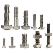Hex Head DIN933 DIN931 Different Bolt Size M6 M7 M8 Small Bolt Sizes