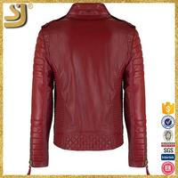 OEM factory price 2016 high fashion real leather clothing newly leather jackets