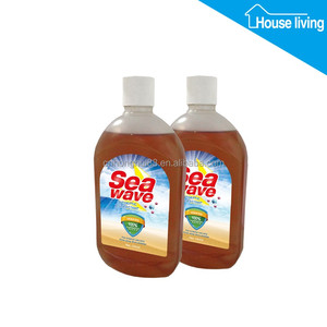 Private label MSDS approved household antiseptic brown disinfectant liquid guangdong