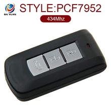 AK011018 Car remote key for Mitsubishi outlander 3 Button Auto key set 434MHZ (PCF7952) ID46
