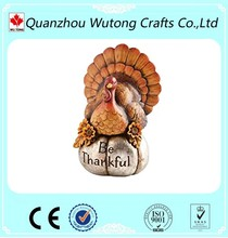 Western Countries Thanksgiving Day Resin Turkey Home Decoration